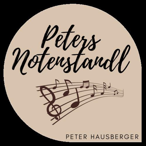 Noten pdf, Noten Hausberger, steirische Harmonika Noten
