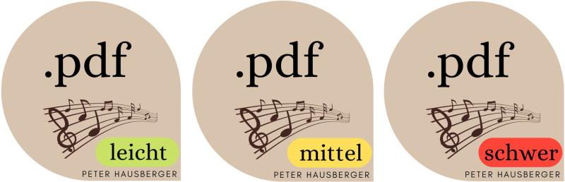 pdf Noten Harmonika leicht mittel schwer